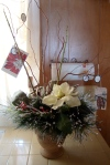 Rustic European Holiday Centerpiece